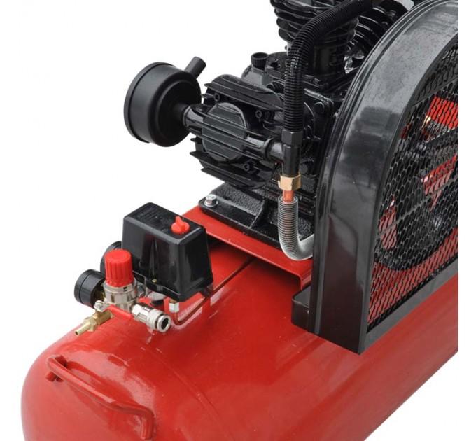 Воздушный компрессор BRADO IBL3100А (до 600 л/мин, 8 атм, 100 л, 230 В, 3.0 кВт)