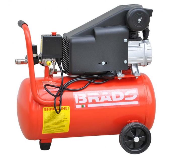 Воздушный компрессор BRADO AR25S (до 180 л/мин, 8 атм, 25 л, 230 В, 1.50 кВт)