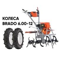 Культиватор SKIPER GT-850SC + колеса BRADO 6.00-12 (комплект)