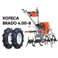 Культиватор SKIPER GT-850SC + колеса BRADO 4.00-8 (комплект)