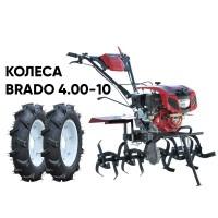 Культиватор BRADO GT-850SX + колеса BRADO 4.00-10 (комплект)