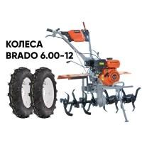 Культиватор SKIPER GT-850S + колеса BRADO 6.00-12 (комплект)