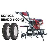 Культиватор BRADO GT-850SX + колеса BRADO 6.00-12 (комплект)