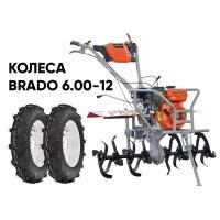Культиватор SKIPER GT-850SB + колеса BRADO 6.00-12 (комплект)