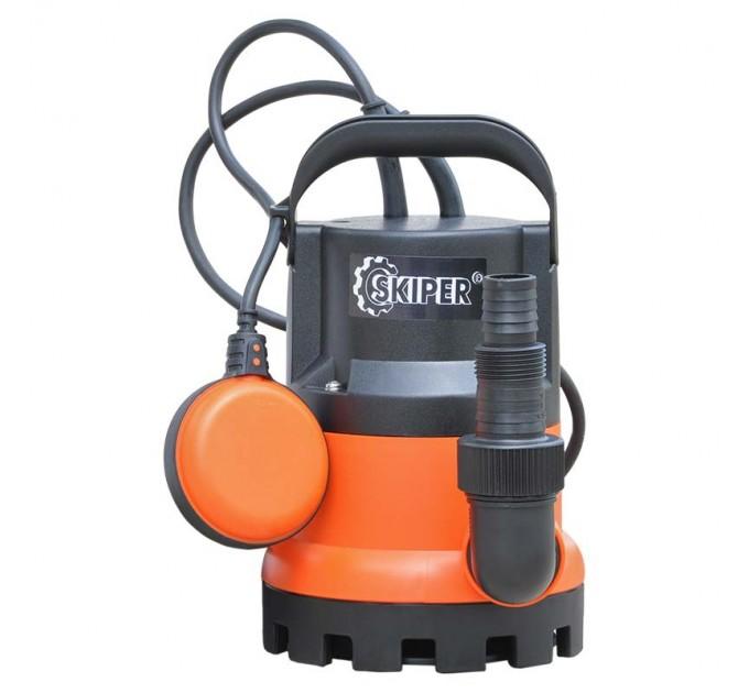 """Насос погружной SKIPER SP3000 для слабозагрязнённой воды (550 Вт, 8500 л/ч, напор 5м, 1 или 1 1/4 """")"""